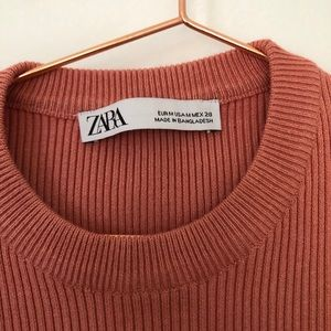 Zara Tops - Zara Coral Long Sleeve Top